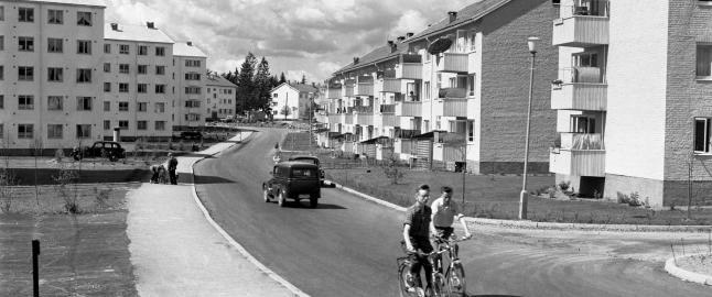 Oslo vokser og det skaper stor boligettersp�rsel. Etter 2. verdenskrig var det mye verre