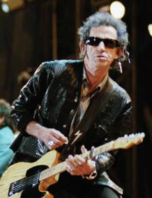 Keith Richards lanserer ny plate med � rakke ned p� rap, Metallica, Sabbath og Beatles