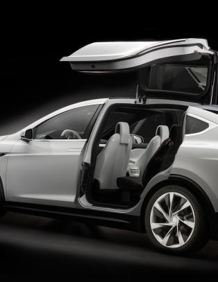 Dollar-sjokk for Tesla Model X