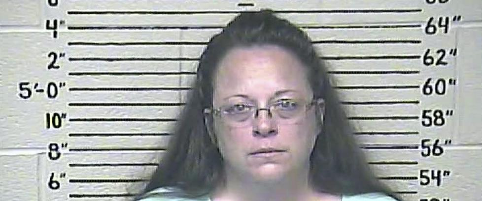 Hun ville nekte homofile � gifte seg i �Guds navn� N� har hun havnet i fengsel