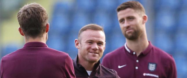 I kveld kan Rooney klare det alle engelske guttunger dr�mmer om