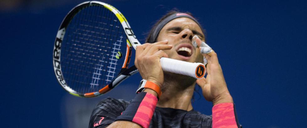 Nadal ute av US Open etter tap mot Fabio Fognini