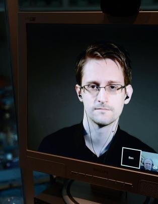 Snowden fikk Bj�rnsonpris: - Har aldri angret
