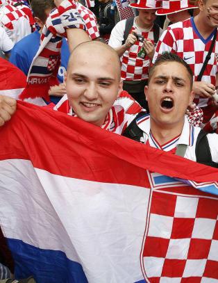 NFF forbyr kroatiske drakter og flagg p� Ullevaal