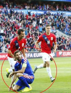 Rundlurt Kroatia-stjerne med pinlig melding etter ydmykelsen
