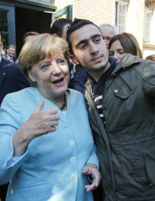 Angela Merkel er storfavoritt til �rets fredspris, if�lge spillselskapene