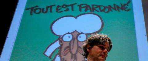 Ny Charlie Hebdo-forside med tegning av Aylan (3) får massiv kritikk