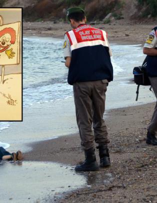 Charlie Hebdo om karikatur av død gutt: - Folk forstår ingenting