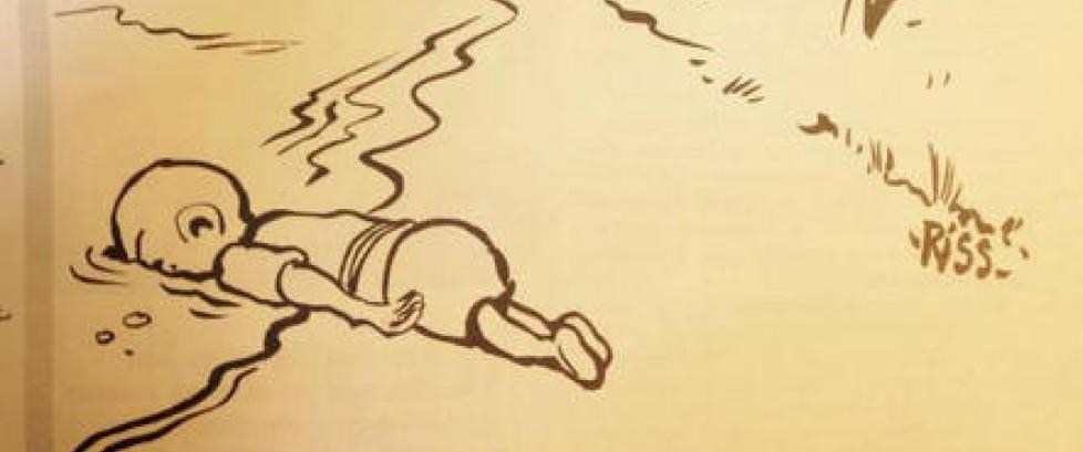 Charlie Hebdo om karikatur av d�d gutt: - Folk forst�r ingenting