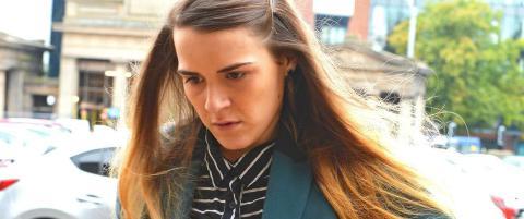 Offeret trodde Gayle var mann da hun ble lurt til sex med bind for �ynene. N� er 25-�ringen overgrepsd�mt