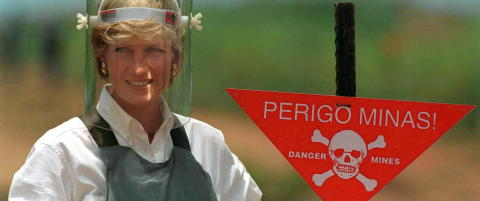 Norsk mineekspert: - Hun var en viktig ambassad�r for arbeidet mot landminer