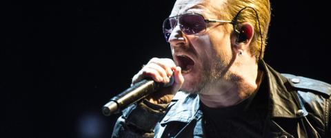 U2-konsert avlyses etter trusler. S�kes etter bev�pnet mann
