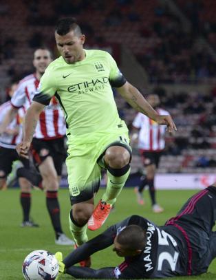 City knuste Sunderland i ligacupen