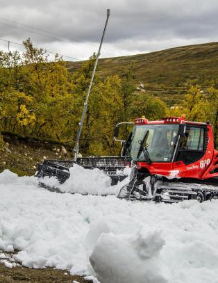 �pner p� l�rdag: Har ikke h�rt om s� tidlig �pning av skianlegg i Norge noen gang