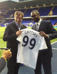 Det gikk ikke helt etter planen da Tottenham skulle hylle legenden...