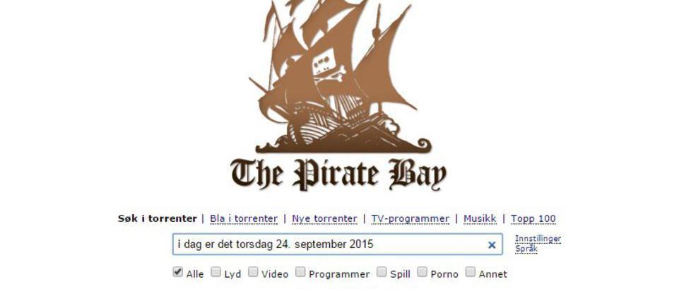 Ble stengt i Norge: N� er The Pirate Bay tilbake