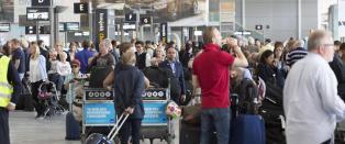 Forventer passasjerrekord p� Oslo lufthavn i dag