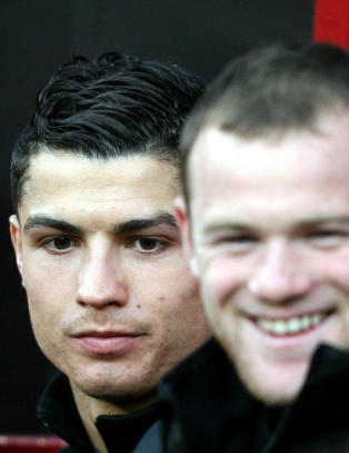 Ronaldo r�per Rooneys kallenavn i United