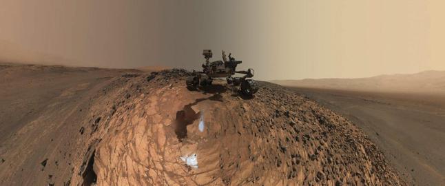 NASA usedvanlig hemmelighetsfulle. Hevder de har l�st mysteriet Mars