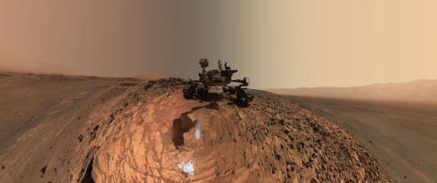 - Har funnet rennende saltvann p� Mars