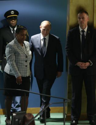 Putin: - Kjempetabbe � ikke samarbeide med syriske myndigheter