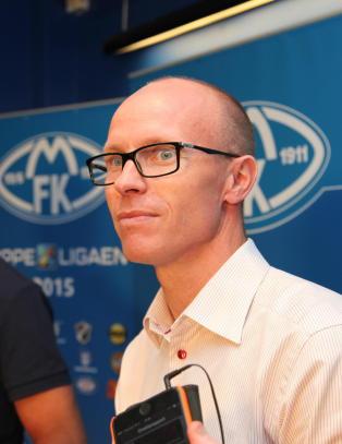 Jacobsen gir seg som Molde-direkt�r. Neerland tar over