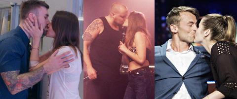Live Nelvik om kyssene: - Ikke avtalt p� forh�nd