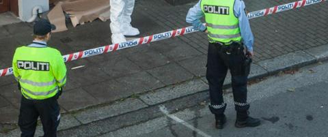 Politiet har sperret av bolig i Haugesund sentrum: - Vi st�r p� et mulig �sted
