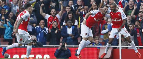 Etter fire �r fikk Wenger sin s�te hevn. Ydmyket Manchester United
