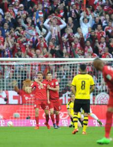 Bayern M�nchen lekte seg med Borussia Dortmund