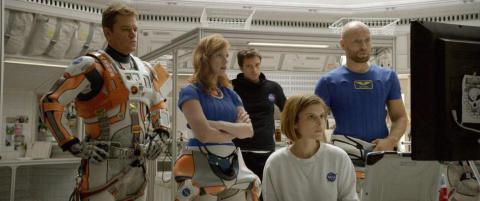 �The Martian� vant kinopublikummet i b�de Norge og USA