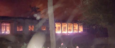 USA bombet sykehus i Afghanistan: - Dette er en innr�mmelse av en krigsforbrytelse