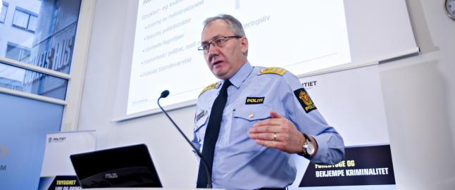 Hovedsetene i de nye politidistriktene er klare