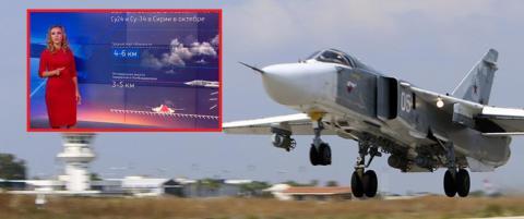 Russisk v�rmelding: - Godt bombev�r i Syria n�