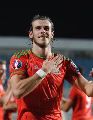 Bale �rets spiller i Wales for femte gang