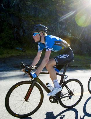 Dette er Norges tiende sykkelproff neste �r