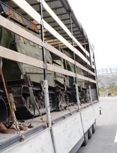 UD trosset Russland-advarsler og lot disse vognene krysse grensa