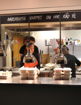 Fjerner moms p� gratis mat: Baner vei for ny type restauranter