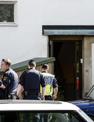 Svensk drapsmann kom til sexm�te med kniv - drakk offerets blod, malte satan-symbol og tok mobilbilder