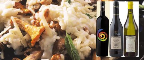 Vintesten: Sopp er fulle av smak, og trives best med viner som ligner