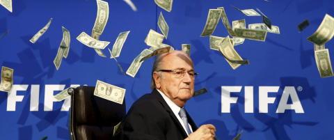 BBC: Blatter suspenderes av Fifa i 90 dager