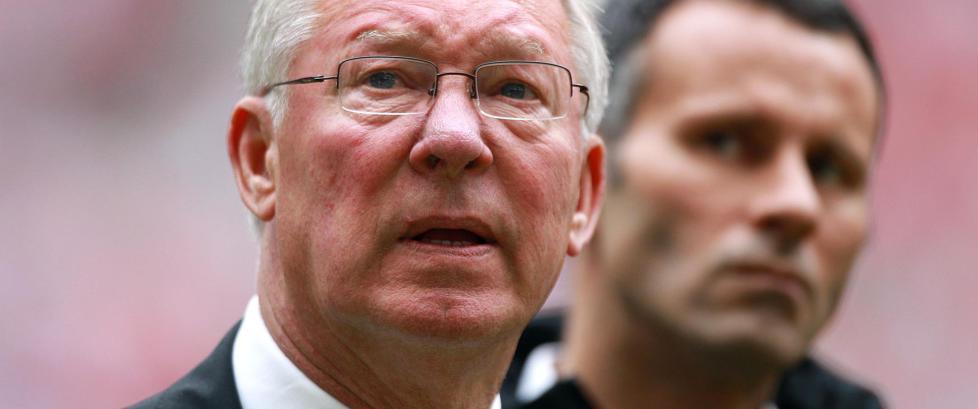 Ferguson om Giggs: - Ville ha v�rt United-manager om han la opp som 35-�ring
