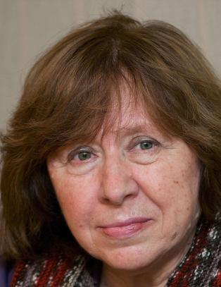 Svetlana Aleksijevitsj f�r Nobels litteraturpris