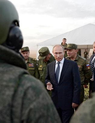 Vågale Putin tar sjanser