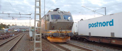 Lokomotiv trillet ukontrollert i to kilometer