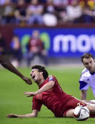 EM-klare Spania m� klare seg uten Silva og Morata i siste kvalikkamp