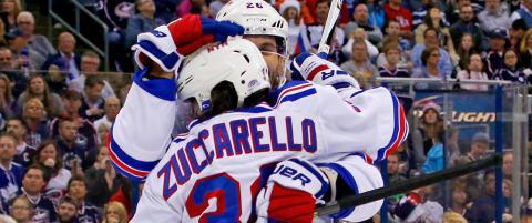 Zuccarello med to scoringer da Rangers leverte vanvittig comeback