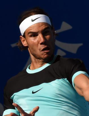 Nadal gjorde jobben og n�dde finalen