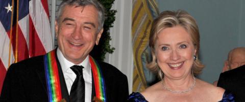Robert de Niro (72): - Det er p� tide med en kvinnelig president