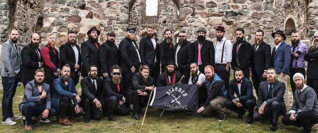 Svensk politi slo til mot skjeggklubb